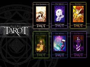 Tarot Wallpaper by Artist ian SVJETLO VIDOVITOSTI